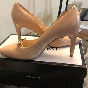 Nine West 7 1/2 Nude Pumps